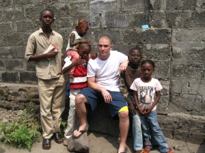 Jason in Kinshasa